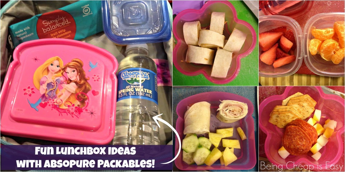 Absopure, Packables, Water, Kids Lunches, Lunchbox ideas
