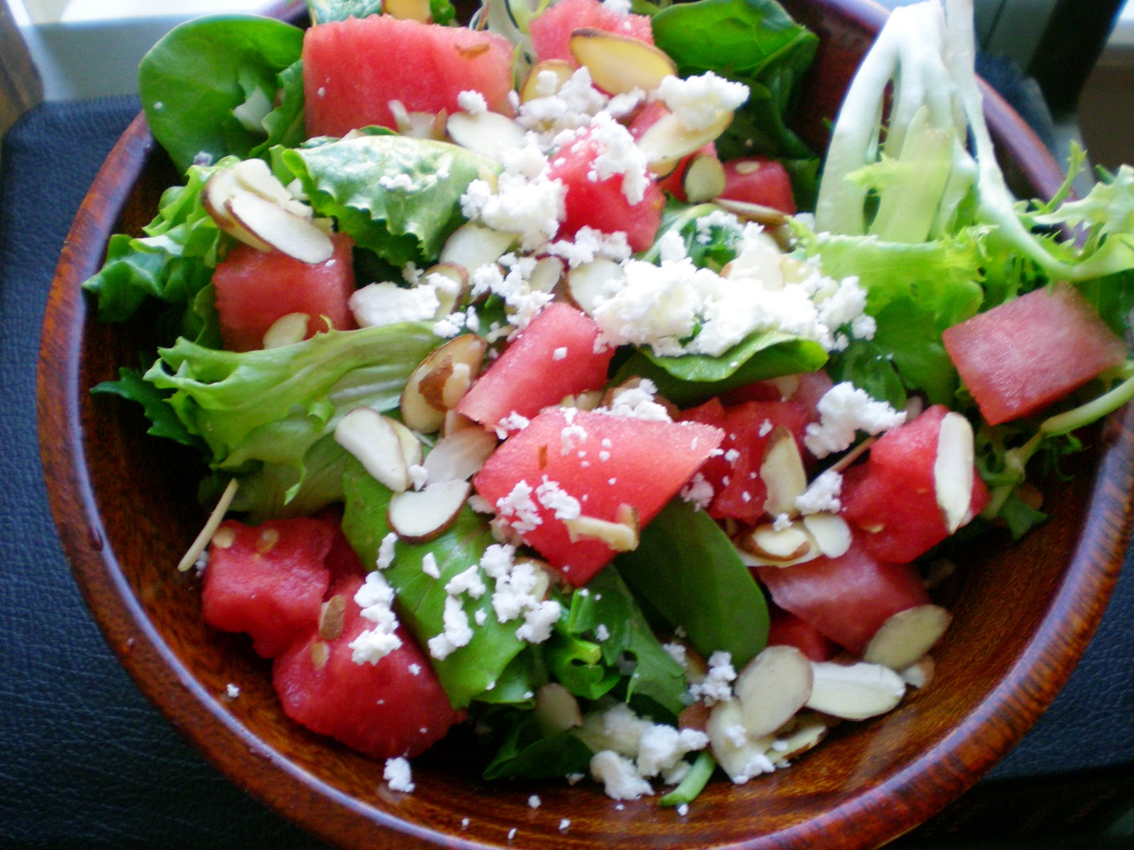 Watermelon Feta Salad ~ From Anne's Kitchen