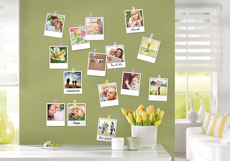 Shabby chic co fotos im polaroid style - Deco foto ...