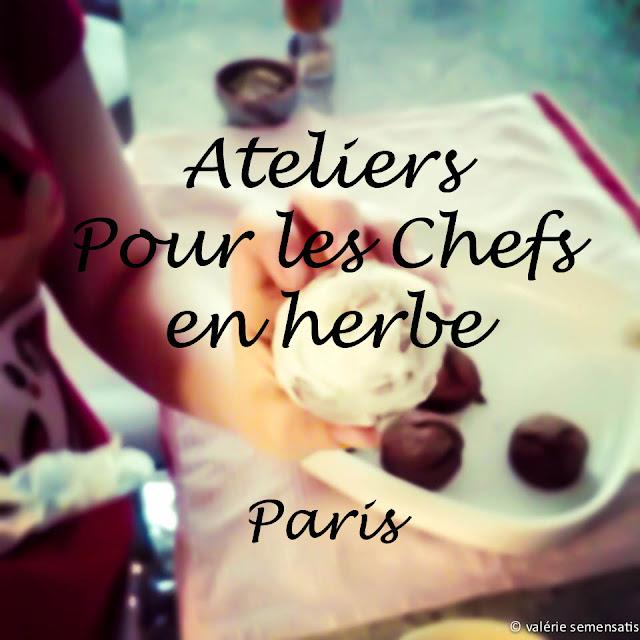 Atelier cuisine enfant adolescent Paris