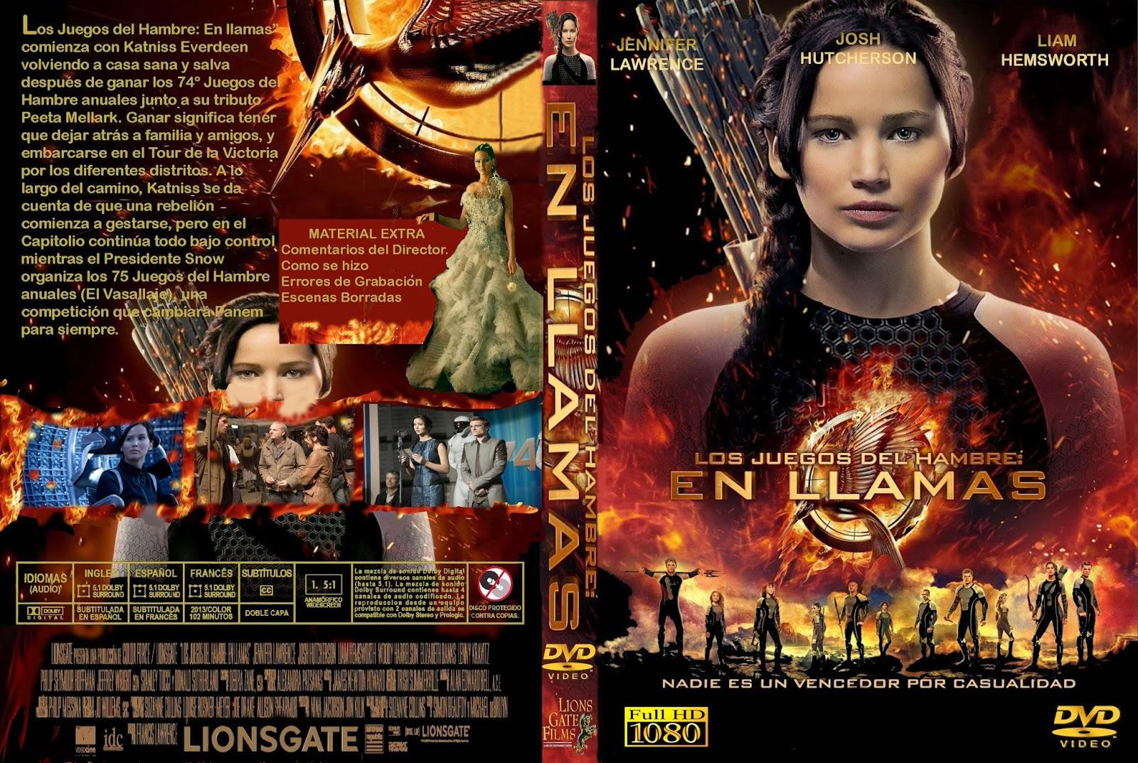 Los Juegos Del Hambre - En LLamas DVD