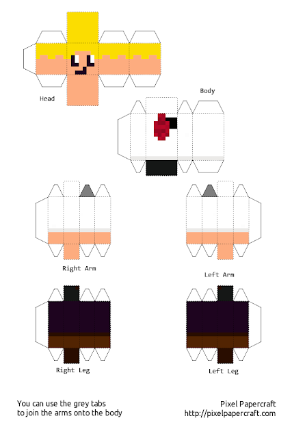 Minecraft paper crafts for kids papercraft for Minecraft crafts for kids