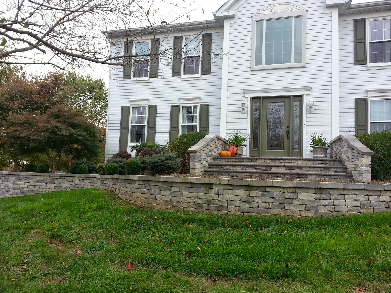 Front Foyer Jobs : Paver front entryway in woodstock md life time pavers