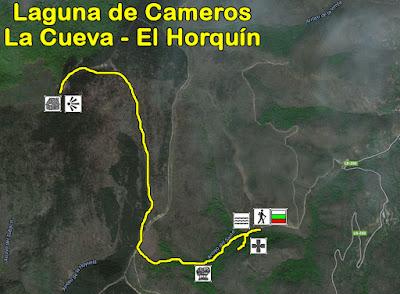 Ruta de senderismo por Laguna de Cameros: La Cueva - El Horquín