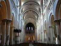 Interior Catedral de Lausana, Suiza, Cathedral of Lausanne, Switzerland, Cathédrale Notre Dame de Lausanne,  Suisse, vuelta al mundo, round the world, La vuelta al mundo de Asun y Ricardo