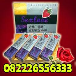 Obat Perangsang Permen Karet- Obat pembangkit Gairah - Perangsang Permen - Sex Lover