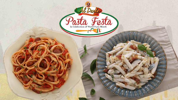 Contest: Win Cash Prize and Al Dente Pasta products