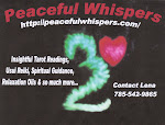 Peaceful Whispers Website (click on the photo below)