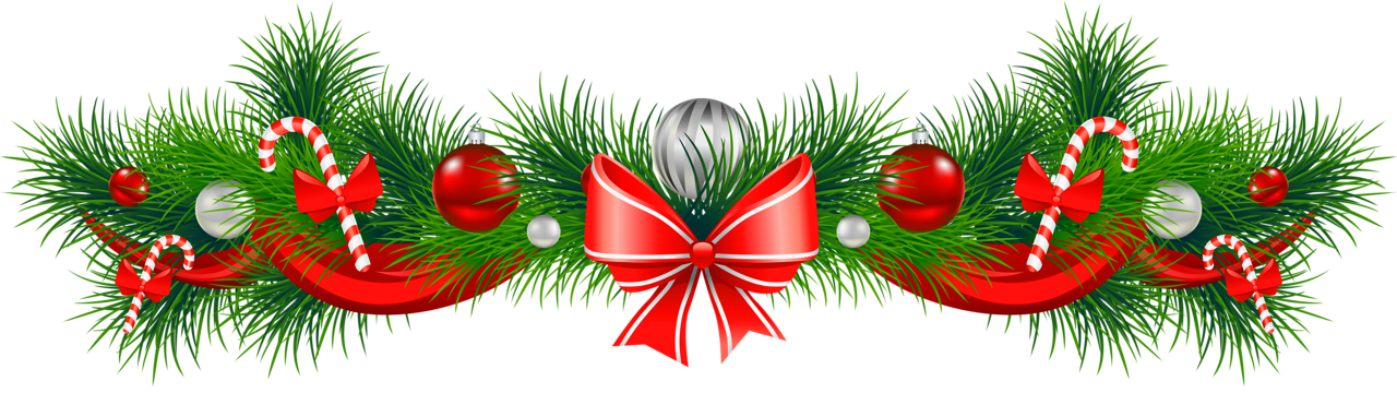 Christmas Garland Clip Art Free Download - Beautiful Wallpaper