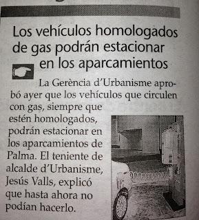 Ya se puede aparcar en los parkings de Palma con Autogas-GLP