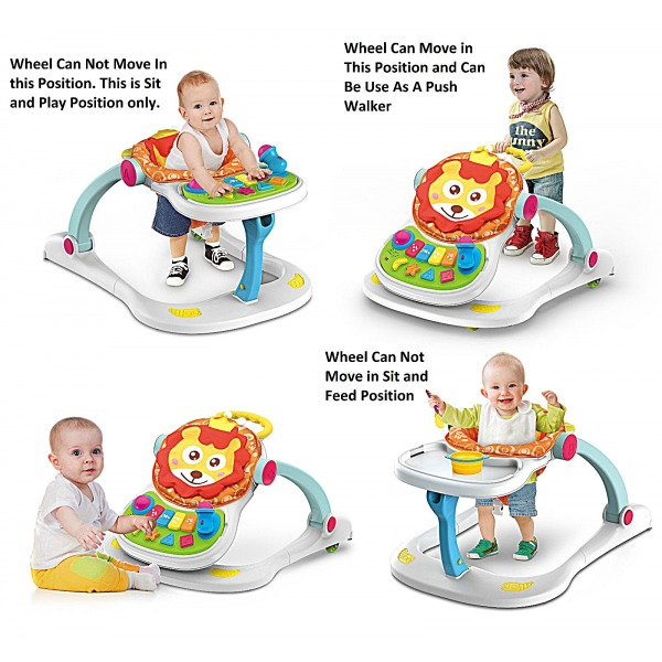 4 IN 1 MULTI FUNCTIONAL BABY PUSH WALKER