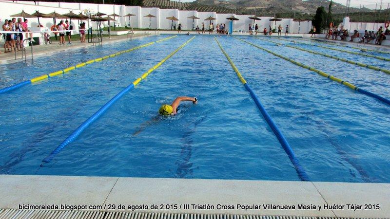 Loma linda y bicimoraleda experience iii triatl n cross for Piscina huetor tajar