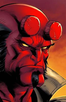 Dibujo de Hellboy
