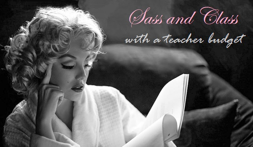 Sass and Class with a Teacher Budget