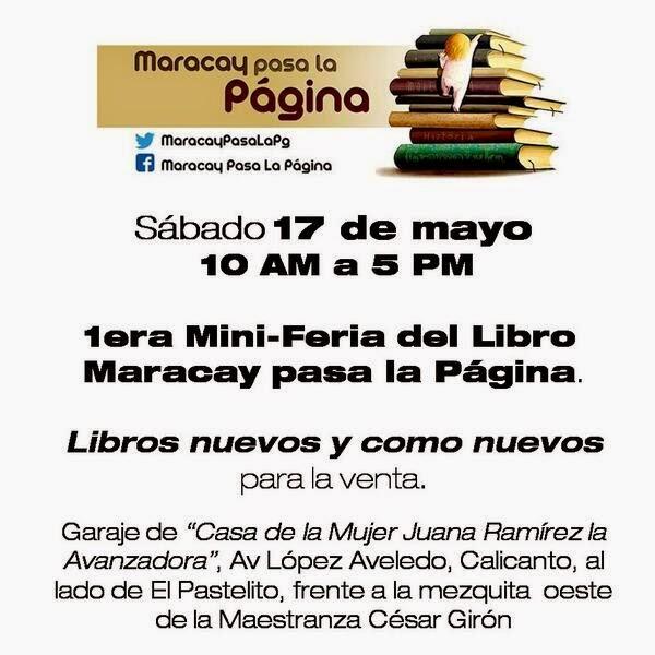 1era Mini Feria del Libro @MaracayPasaLaPg