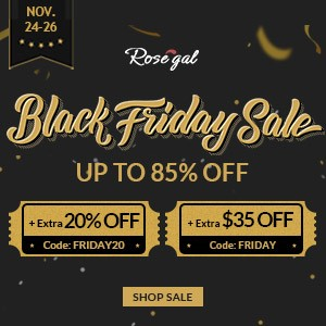 rosegal blackk friday