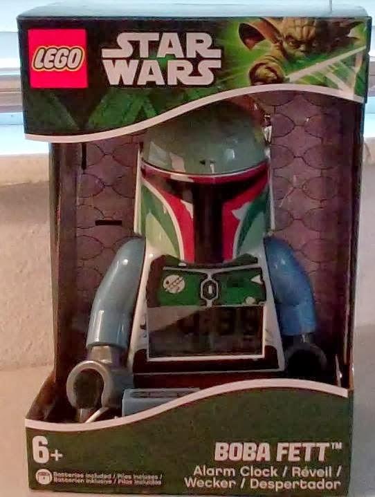 Review of Lego Star Wars Boba Fett Alarm Clock