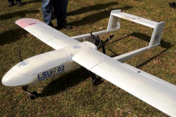 LSU 02, LAPAN Surveillence UAV. ZonaAero