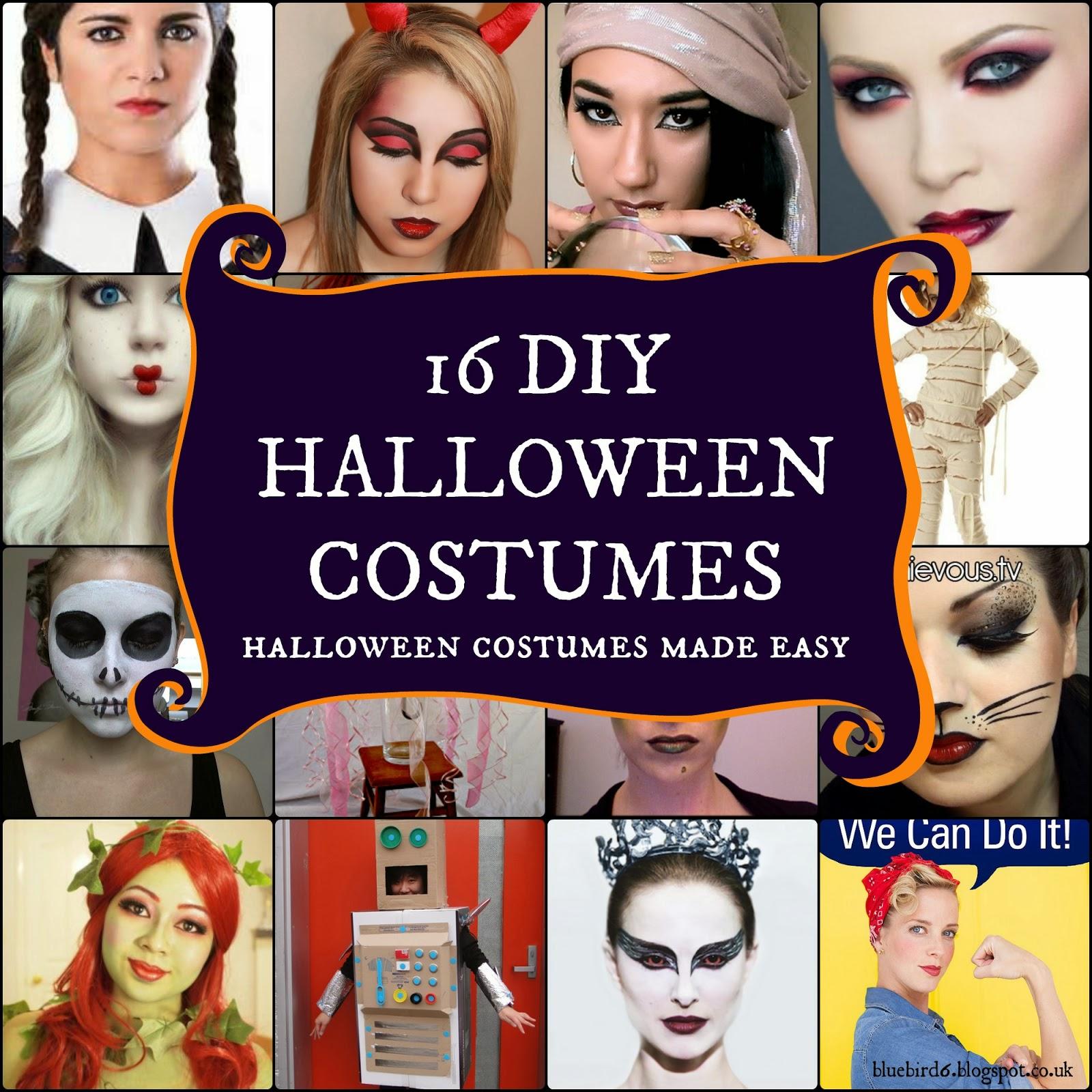DIY Halloween costumes made easy Diy Halloween Costumes
