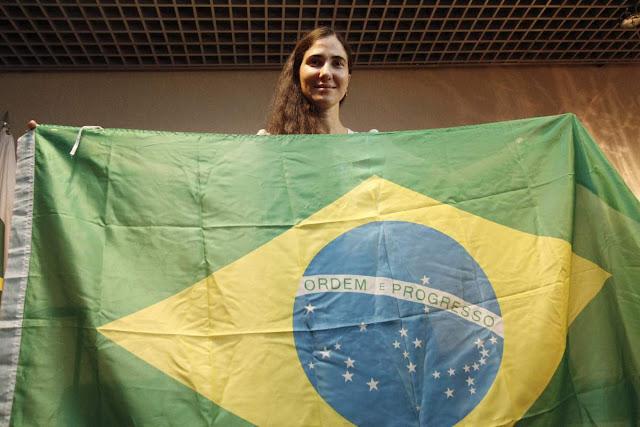 Yoani Sánchez no Brasil