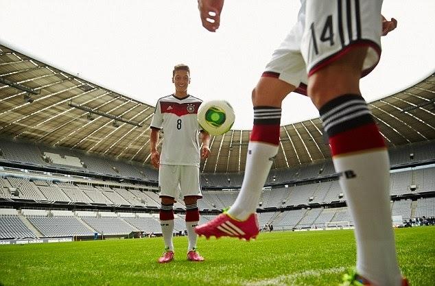 Germany 2014 FIFA World Cup Home Football Socks