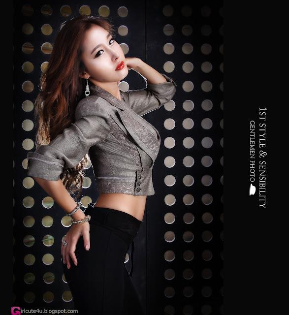 1 Hwang In Ji - Sexy Leopard-Very cute asian girl - girlcute4u.blogspot.com