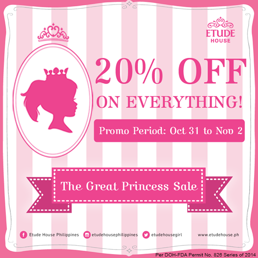 Etude House The Great Princess Sale