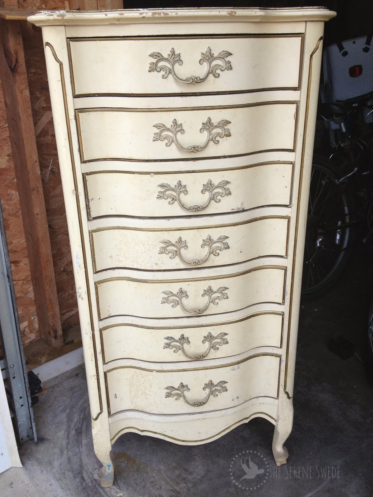 The Serene Swede French Provincial Dresser Fake It Till You Make It