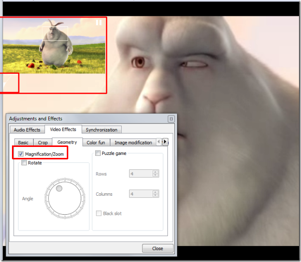 Video magnification , VLC Features , vlc modifications, vlc player, vlc usage, video zoom in out in vlc , video zoom in out