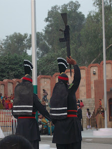 Pakistani Flag Ceremony