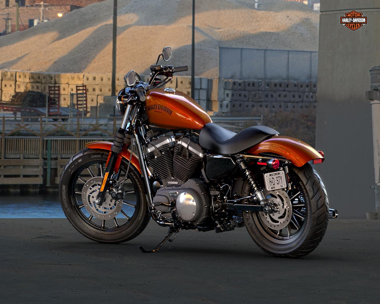 Harley Davidson Iron 2013