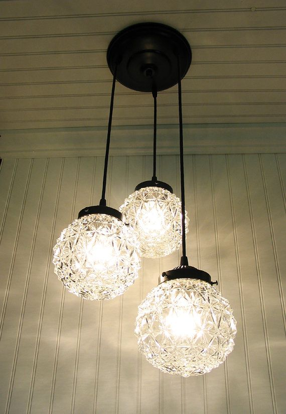 Lewiston I. Diamond Cut CHANDELIER