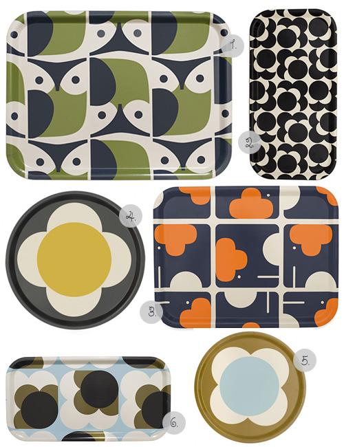 Beautiful Trays by Orla Kiely  sc 1 st  My Owl Barn & My Owl Barn: Beautiful Trays by Orla Kiely