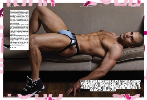 Todd Sanfield by Kevin McDermott for Dorian Magazine