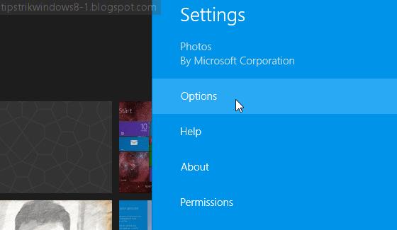 """Cara Mengubah Gambar pada Live Tile Aplikasi """"Photos"""" 6"""