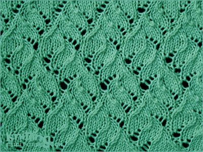 Lace Knitting Patterns In The Round : Knitting Stitch Patterns