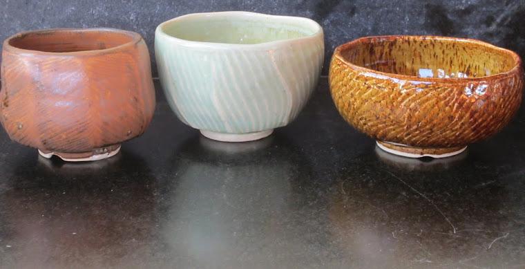 Wavy Lotus Teabowls