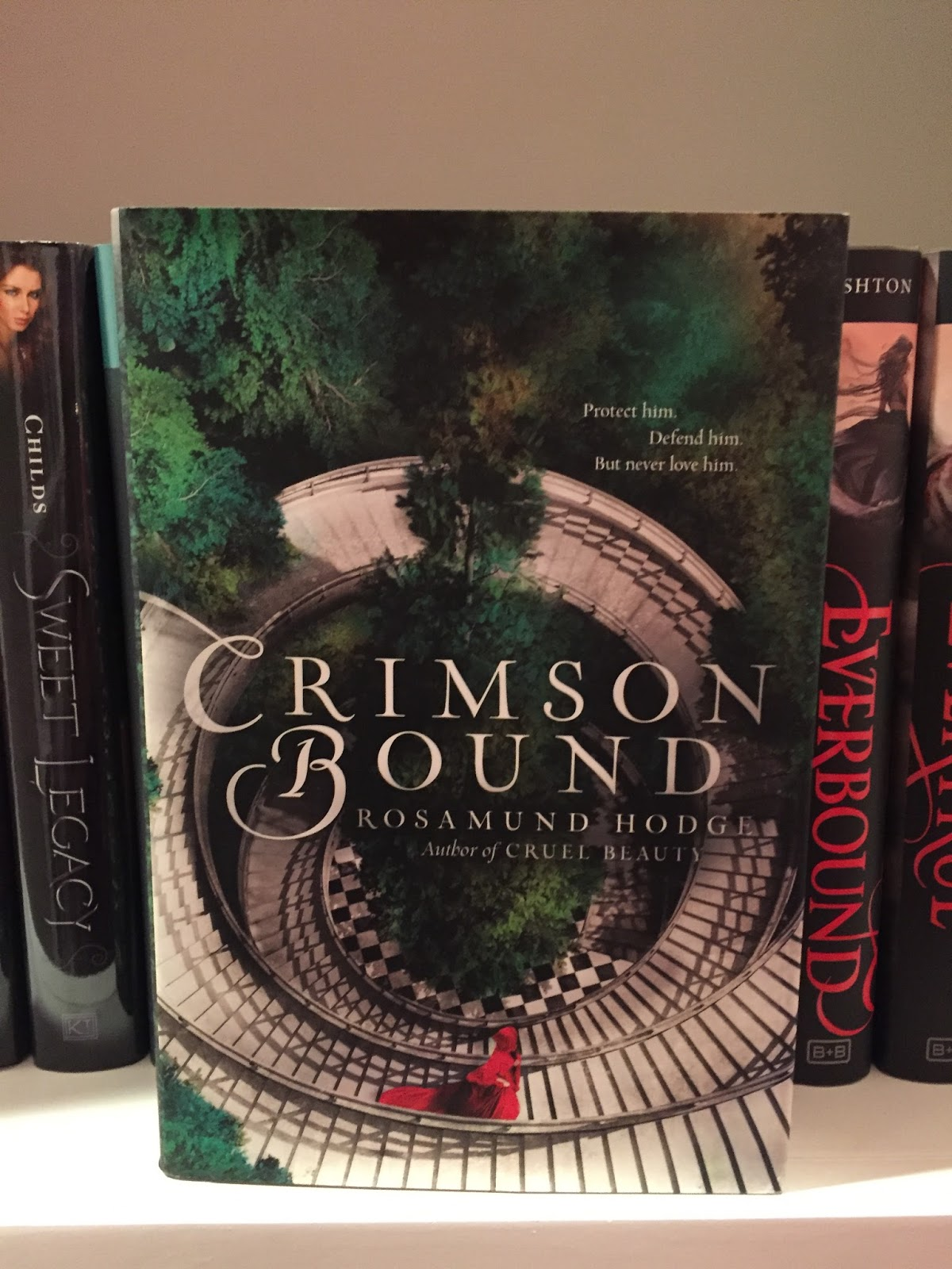 This Topic Was Harder For Me To Pick A Book For Than I Thought It Would Be,  But I Absolutely Loved Cruel Beauty And Crimson Bound Looks Amazing!