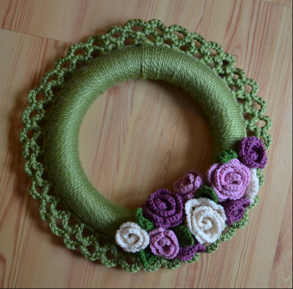 Seaside Stitches Spring Wreath Re Do