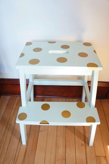 Ikea Hack: Ikea Bekvam Step Stool DIY