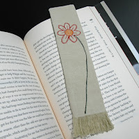 http://www.threadingmyway.com/2015/09/fabric-bookmark-with-stitched-flower.html