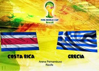 Costa Rica 1 - 1 Grecia. Grecia cae en los penaltis.