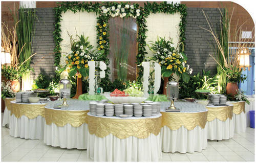 Wedding ideas at home vanessa wedding ideas for Home wedding reception decorations