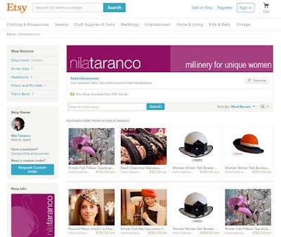 Comprar aquí los sombreros y tocados de @nilataranco nunca fue tan facil. https://www.etsy.com/shop/hatsnilataranco