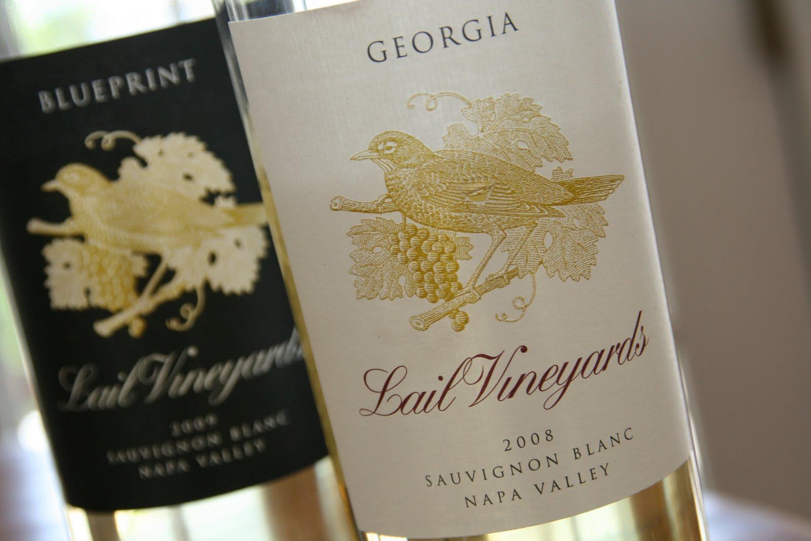 California Wine Report: Sauvignon Blanc à la Lail Vineyards -- white wines