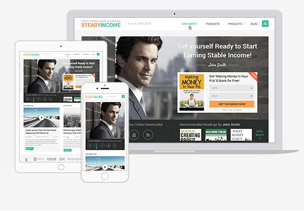 Steady Income WordPress Theme