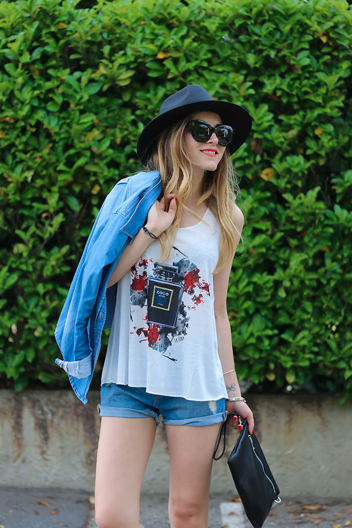 summer denim outfit