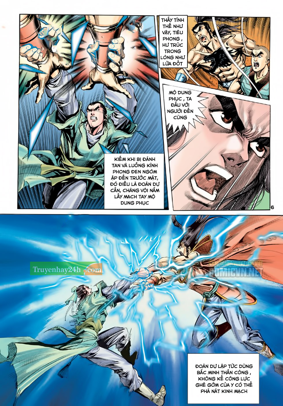 Thiên Long Bát Bộ chap 100 - Trang 7