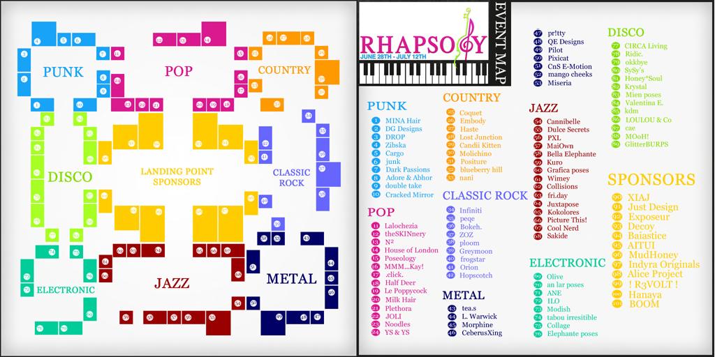 Rhapsody Map