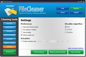 filecleaner optimizer and cleanup software 2015